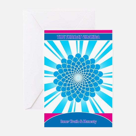 The Throat Chakra Greeting Cards
