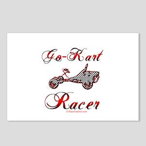 Go-Kart Racer Postcards (Package of 8)