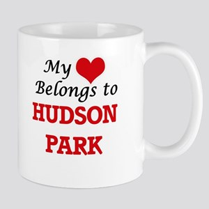 My Heart Belongs to Hudson Park New York Mugs