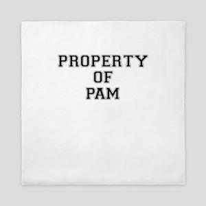 Property of PAM Queen Duvet