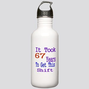 It Took 67 Years Birth Stainless Water Bottle 1.0L