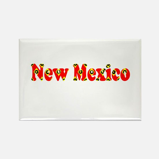 New Mexico Red Cool Pattern Jerry's Fave Magnets