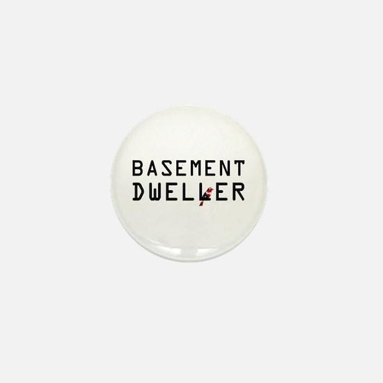 Basement Dweller - Bernie Bird Mini Button