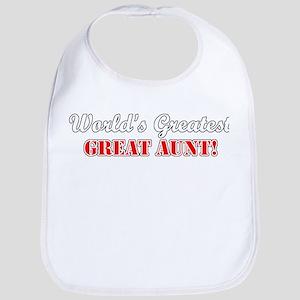 World's Greatest Great Aunt Bib