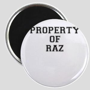 Property of RAZ Magnets