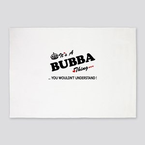 BUBBA thing, you wouldn't understan 5'x7'Area Rug