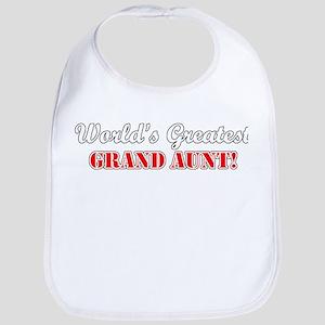 World's Greatest Grand Aunt Bib
