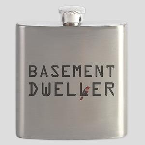 Basement Dweller - Bernie Bird Flask