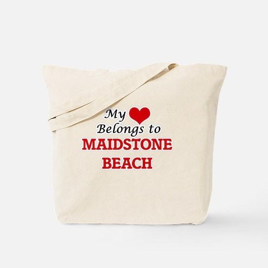 My Heart Belongs to Maidstone Beach New Y Tote Bag