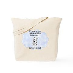 Dalmatians In Heaven Tote Bag