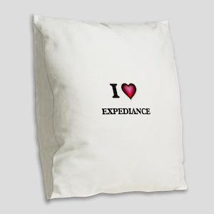 I love EXPEDIANCE Burlap Throw Pillow