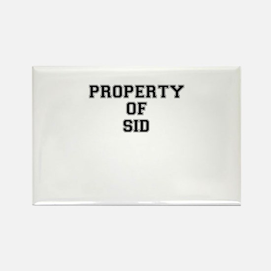Property of SID Magnets