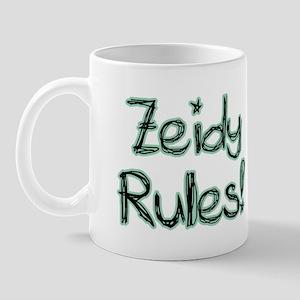 Zeidy Rules! Mug