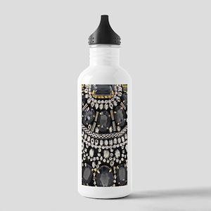 bohemian rhinestone ar Stainless Water Bottle 1.0L