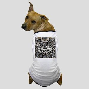 bohemian rhinestone art deco Dog T-Shirt