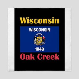 Oak Creek Wisconsin Queen Duvet