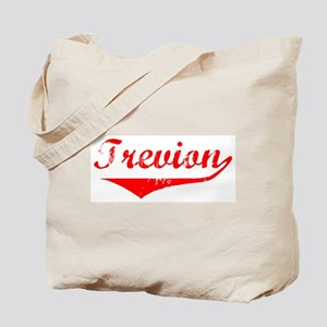 Trevion Vintage (Red) Tote Bag