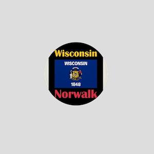 Norwalk Wisconsin Mini Button