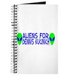 Aliens For Dennis Kucinich Journal
