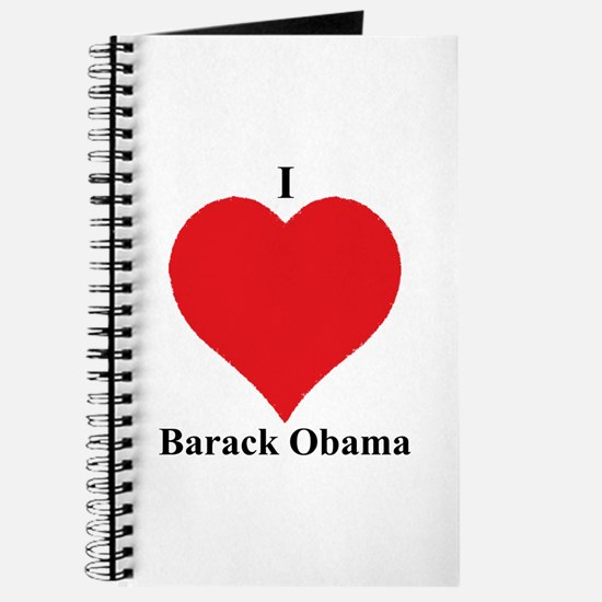 I Love Barack Obama Journal