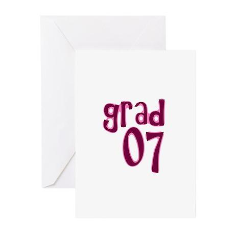 Grad 07 Greeting Cards (Pk of 10)