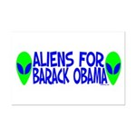 Aliens For Barack Obama Mini Poster Print