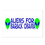 Aliens For Barack Obama Postcards (Package of 8)