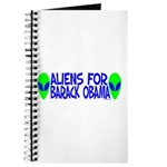 Aliens For Barack Obama Journal