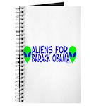 Aliens For Barack Obama Journal