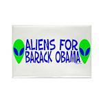 Aliens For Barack Obama Rectangle Magnet (10 pack)