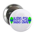 "Aliens For Barack Obama 2.25"" Button (100 pack)"