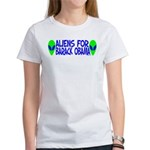 Aliens For Barack Obama Women's T-Shirt