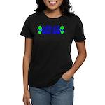 Aliens For Barack Obama Women's Dark T-Shirt