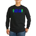 Aliens For Barack Obama Long Sleeve Dark T-Shirt