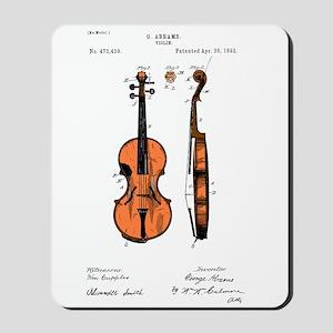 Fiddle (Full) Patent Mousepad