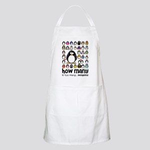 too many penguins BBQ Apron