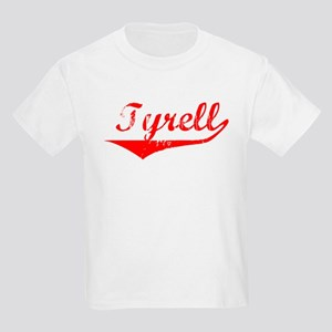 Tyrell Vintage (Red) Kids Light T-Shirt
