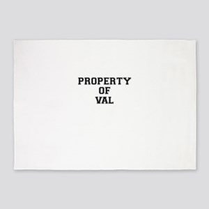 Property of VAL 5'x7'Area Rug
