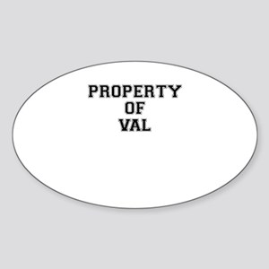 Property of VAL Sticker
