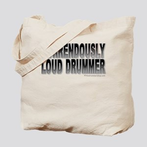 Horrendously loud drummer : Tote Bag