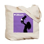 iMom Purple Mother's Day Gift Tote Bag