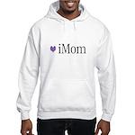 iMom Purple Mother's Day Gift Hooded Sweatshirt
