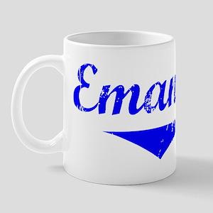 Emanuel Vintage (Blue) Mug