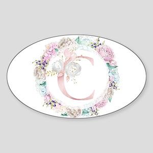 Floral Garden - C Sticker