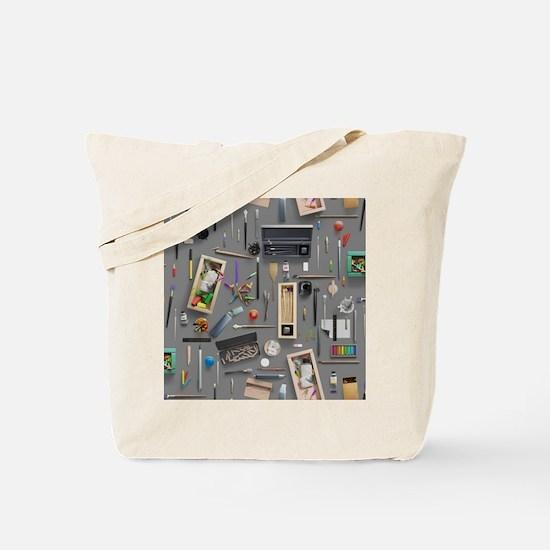 Artist's supplies Tote Bag