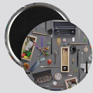 Artist's supplies Magnet