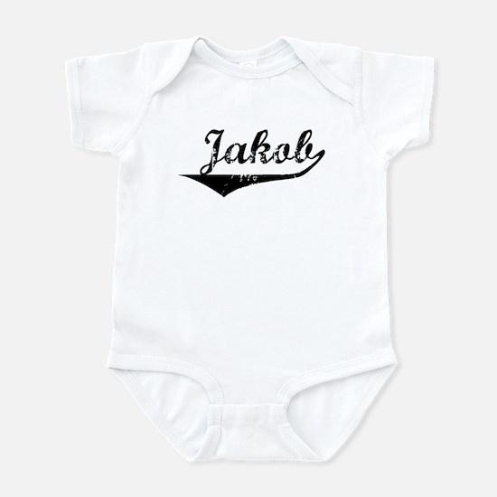 Jakob Vintage (Black) Infant Bodysuit