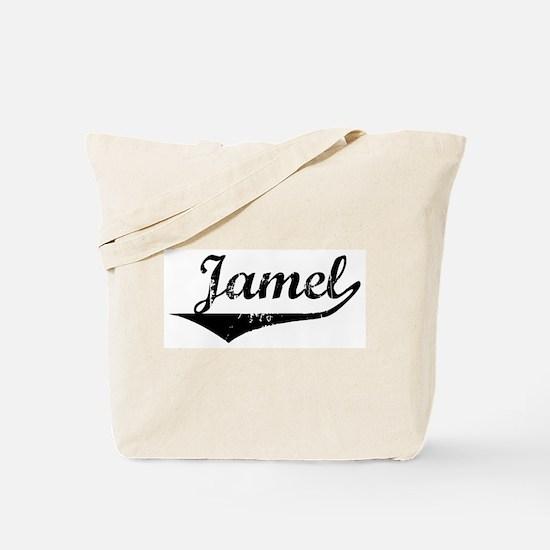Jamel Vintage (Black) Tote Bag