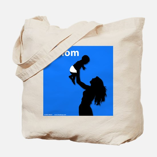 iMom Blue Mother's Day Tote Bag