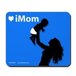 iMom Blue Mother's Day Mousepad